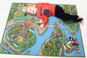 Kids Play Blanket of Pirate