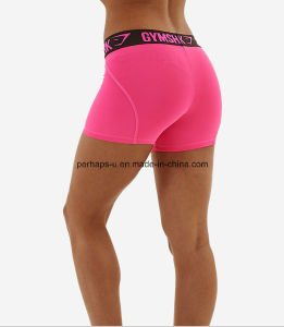 Women Quickly Dry Sports Pants Gym Shorts Athletic Wear pictures & photos