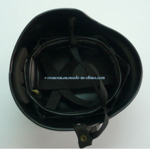 Black Anti-Riot Helmet for Police or Army pictures & photos