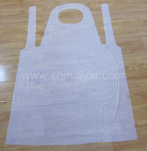 Cleaning Disposable PE Apron (LY-apron) pictures & photos