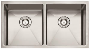 "American Standard 3219 / 32""X19"" 50/50 Hand Made Undermount Stainless Steel Sink Double Bowl Kitchen Sink Cupc pictures & photos"