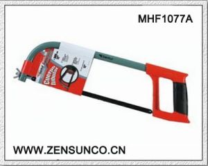 High Quality Hacksaw Oval Tubular Hacksaw Frame with Plastic Handle Soft Grip pictures & photos