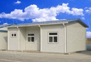 Cost Saving Light Steel Strcture Makeshift Prefabricated House (KXD-117) pictures & photos