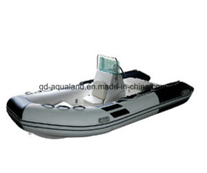 Aqualand 14feet Rigid Inflatable Fishing Boat /Rib Boat (RIB420B) pictures & photos
