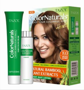 Tazol Colornaturals Hair Color Cream pictures & photos