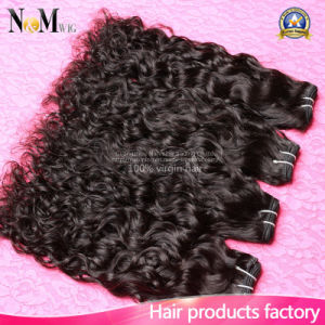 100% No Hair Dye New Arrival Peruvian Virgin Hair Human Hair Water Weave (QB-PVRH-ST) pictures & photos
