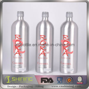 Empty Aluminum Drinking Beverage Wine Bottles