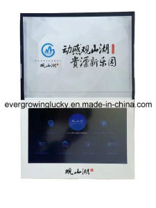 New Year Business Promtion LCD Brochure/Video Greeting Card pictures & photos