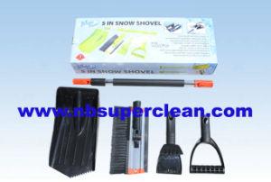 Telescopic Snow Remove Push Snow Shovel (CN2369) pictures & photos