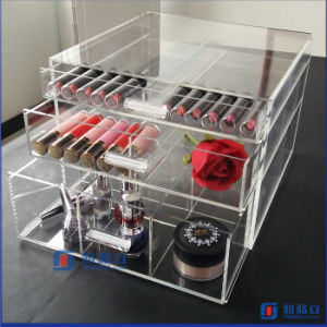 High Quality Best Service Acrylic Cosmetic Storage Box pictures & photos