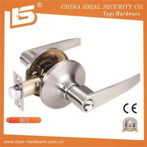 Zinc Alloy Door Tubular Handle Lock-815 pictures & photos