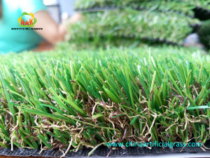 Natural Color Artificial Grass for Supermarket Hot Sale pictures & photos