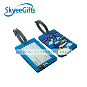 2016 Custom PVC Boarding Pass Keychains pictures & photos