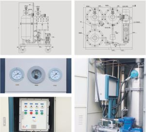 Portable Waste Water Treatment Oil Water Separating Machine pictures & photos