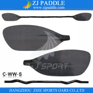 2016 New Style Carbon Fiber Whitewater Kayaking Paddle From Zj Paddle