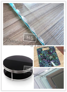 5mm Black Rim Tempered Glass pictures & photos