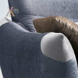 Modern Fabric Sofa Set with Cushion (1611) pictures & photos