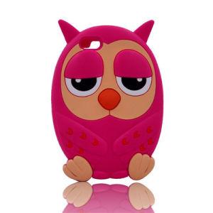 3D Owl Case for iPhone 7 7plus Motorola G4 Cartoon Case Mobile Phone Case (XSDW-026)