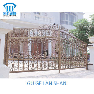 High Quality Crafted Wrought Iron Gate 033 pictures & photos