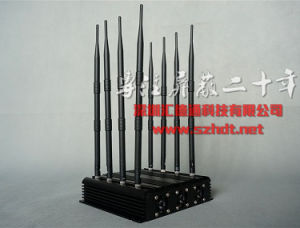 Free Shipping 8-CH Cell Phone & WiFi Signal Jammer pictures & photos