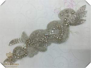 The Bride′s Wedding Dress Rhinestone Adhesive Trim Belt, DIY Accessories pictures & photos