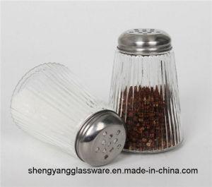 100% No-Lead Glass Cruet Condiment Salt Shaker pictures & photos
