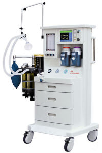 Air, O2 and N2o Five-Tubes Anaesthesia (with Ventilator) (AM-560B5) pictures & photos