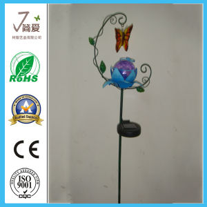 Metal Solar Light for Garden, Iron Casting Outdoor Light pictures & photos