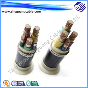 U/G Underground LV XLPE Insulated PVC Sheathed Armored Electric Power Cable pictures & photos