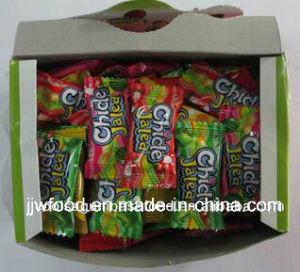 Jjw 4G Fruit Flavor Colorful Jelly Bubble Gum pictures & photos