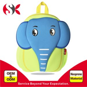Cartoon Elephant School Backpack for Travel, Sports, Hiking
