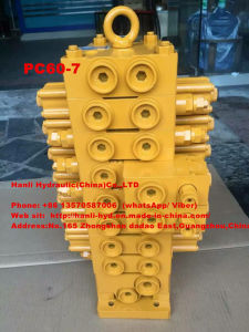 (PC60-7) Komatsu Crawler Steel Hydraulic Multi-Way Control Valve for Excavator pictures & photos
