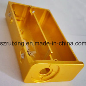 CNC Machining E-Cig Components From Aluminum Extrusion pictures & photos