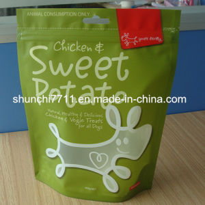 Wholesale Stand up Zipper Pet Food Bag pictures & photos