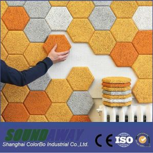 Interior Decorative Soundproofing Wood Wool Acoustic Panel pictures & photos