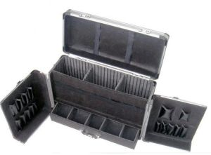 Aluminium Alloy Makeup Case Professional Portable Cosmetics Case pictures & photos