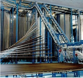 Vertical Aluminum Profiles Powder Coating Line/Systems pictures & photos