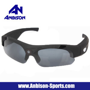 Fashion Camera Video Recording Sports Sunglasses with 120 Degree Wide Angle Lens pictures & photos