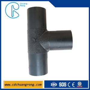 High Pressure HDPE Pipe Tee Dimensions pictures & photos