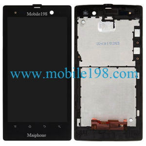 LCD Screen with Digitizer and Front Housing for Sony Xperia Lt28I pictures & photos