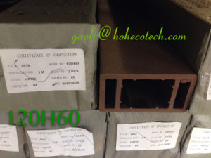 120*60 Posting WPC Baluster Timber Composite Pillar pictures & photos