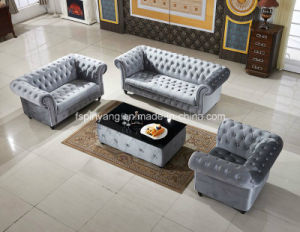 Pinyang French Style Upholstery Fabric Sofa Home Furniture, Royal Classical Sofa Af01 pictures & photos