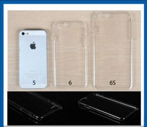 Rubberized Plastic Clear PC Cover Case for iPhone 6 pictures & photos