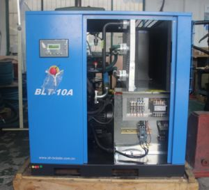 10HP 7.5kw Belt Drive Screw Air Compressor pictures & photos
