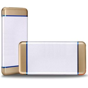 Good Quality 8000mAh Built in Cable Power Bank Slim with Power Indicator Light pictures & photos