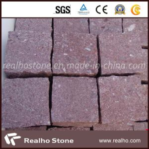 Natural Split Surface Red Porphyry Pavers