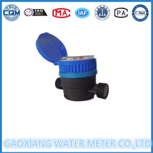 Nylon Single Jet Magnetic Drive Residential Water Meter Dn15 pictures & photos