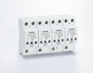 Lightning Protector 100ka Surge Protector for CE pictures & photos