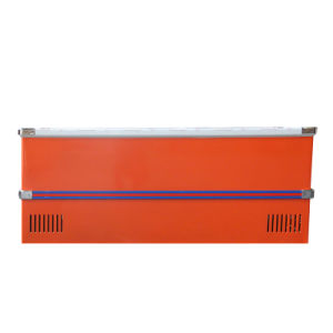 610L Sliding Door Deep Cabinet Island Freezer for Supermarket pictures & photos