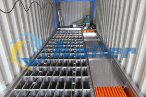 3tons Container Ice Block Making Machine 20gp (20 feet) pictures & photos